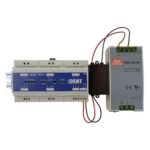 amplificatore di misura / con uscita in corrente / su guida DIN