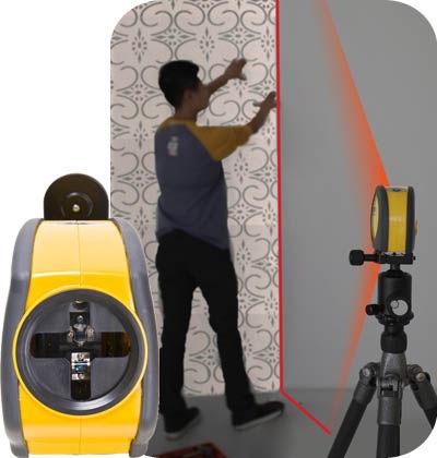 laser a linea di posizionamento