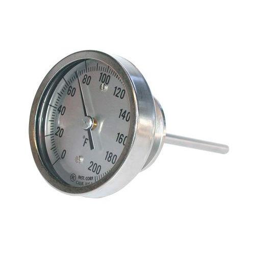 termometro bimetallico / analogico / ad inserimento / igienico