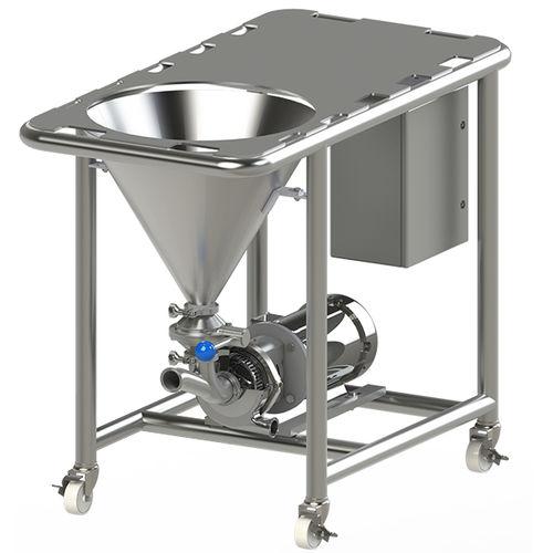 miscelatore con pompa centrifuga