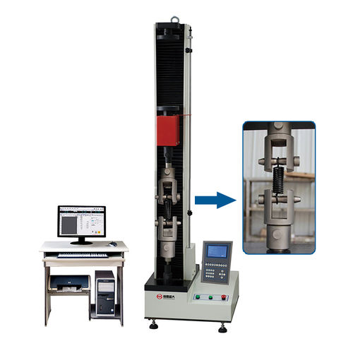 macchina per prova di compressione / di tensione / di trazione / di molle