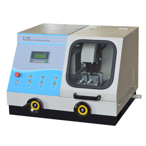 macchina da taglio per metallografia
