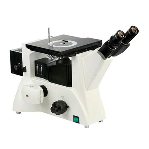 microscopio metallurgico / compatto / invertito / trinoculare