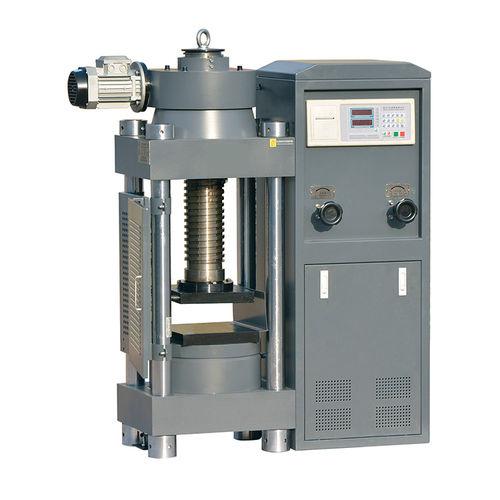 macchina per test di compressione / del cemento / digitale / elettrica