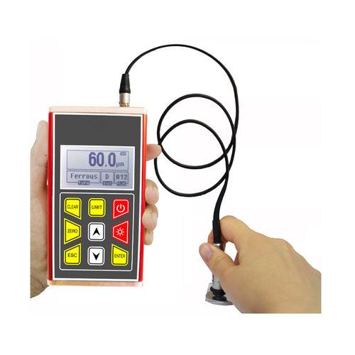 misuratore di spessore di rivestimento / con display digitale / portatile