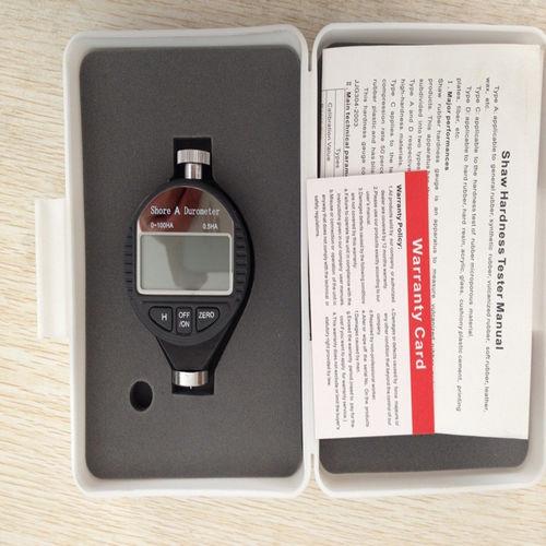 durometro Shore / portatile / con display digitale / per plastica