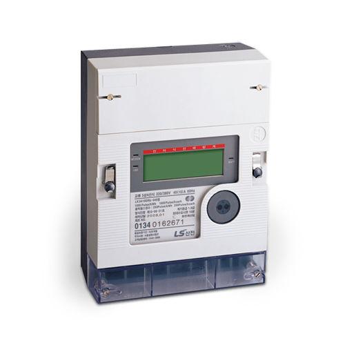 contatore di energia elettrica monofase / a muro / con display LCD
