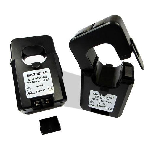 trasduttore di corrente a trasformatore / fisso / AC / apribile