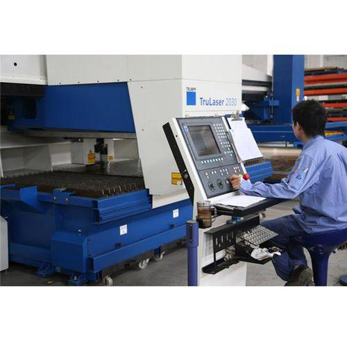 taglio al plasma / acciaio / per serie di medie dimensioni / per piccole serie