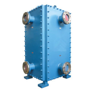 scambiatore di calore a piastre semi saldate / in acciaio inossidabile / compatto / per l'industria petrolchimica