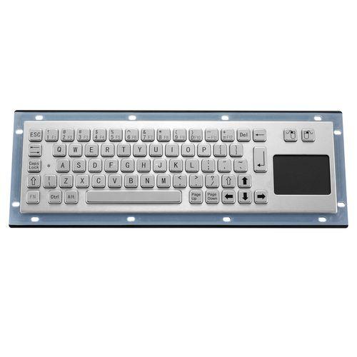 tastiera da ufficio / a tasti meccanici / con touchpad / industriale