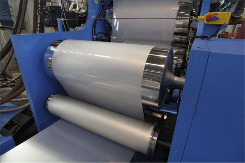 linea di estrusione per pannelli in materia plastica / per PP / per PVC / per PE