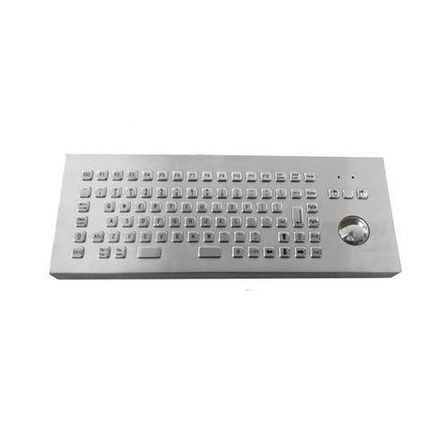 tastiera da ufficio / a tasti meccanici / con trackball / con mouse