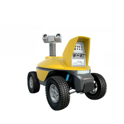 robot di ispezione su ruota