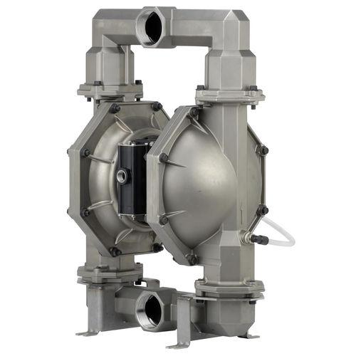 pompa per prodotti agroalimentari / pneumatica / a doppia membrana / industriale