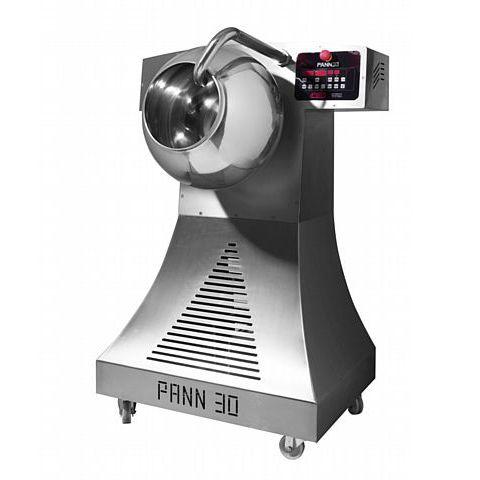 macchina per rivestimento di cioccolato / per il settore agroalimentare / in acciaio inossidabile / per confetti