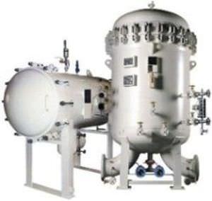 carter per filtro a coalescenza / per liquido / in acciaio al carbonio