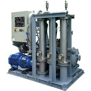 separatore gravimetrico / per olio / d'acqua / per l'industria petrolifera