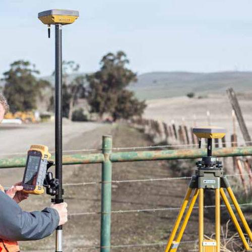 ricevitore RTK / GNSS / per cantiere / compatto
