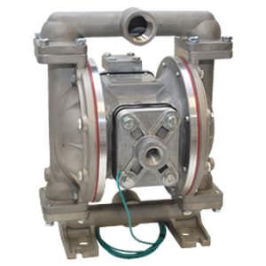 pompa per solventi / per verniciatura / azionata ad aria / a doppia membrana