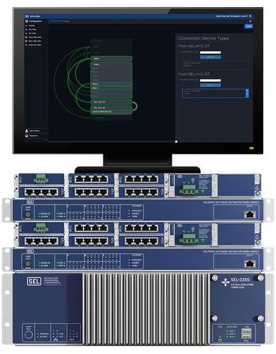 switch Ethernet 5 porte / Ethernet / per rack