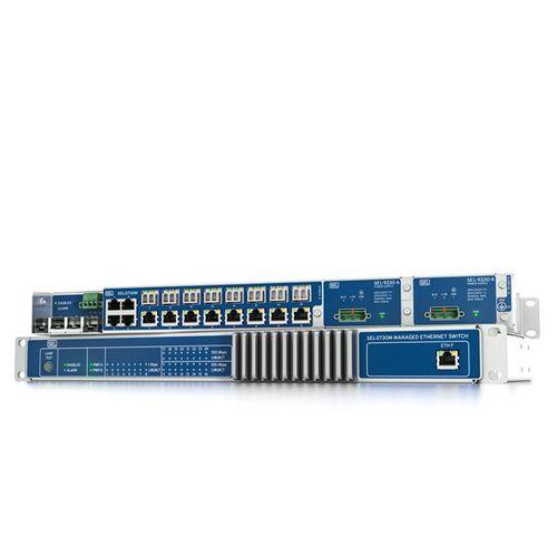 switch Ethernet gestibile / 24 porte / in fibra ottica / Ethernet gigabit