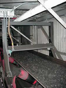 rilevatore di metalli per trasportatore