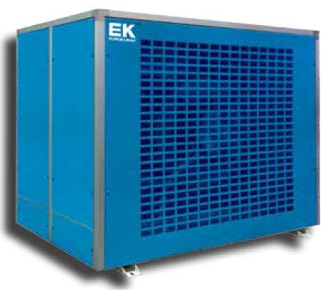 condensatore ventilato / in acciaio galvanizzato
