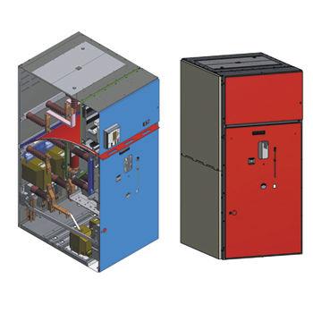 quadro di distribuzione a media tensione / isolato ad aria / per distribuzione elettrica