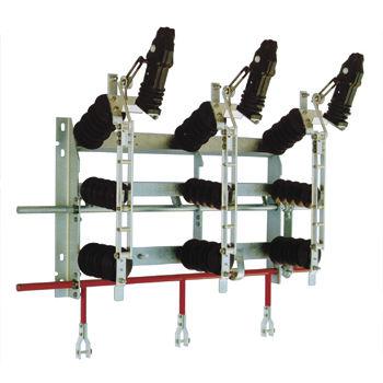 interruttore-sezionatore a media tensione / per esterni / sottovuoto / 3 poli