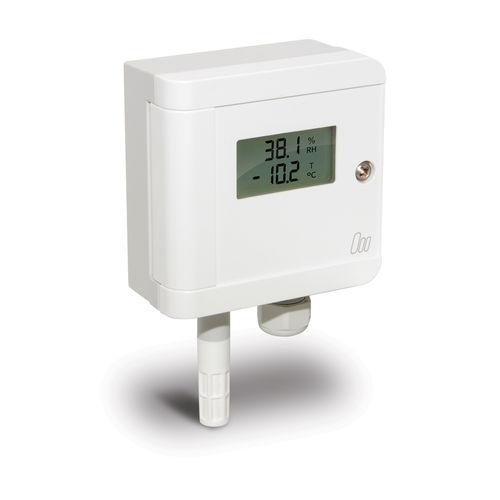 trasmettitore di umidità relativa / a parete / per l'industria agroalimentare / dell'aria