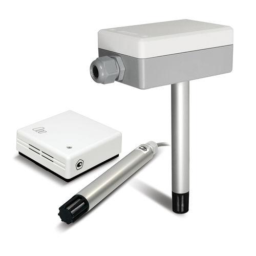 trasmettitore di umidità relativa / installato su condotto / per uso interno / per HVAC
