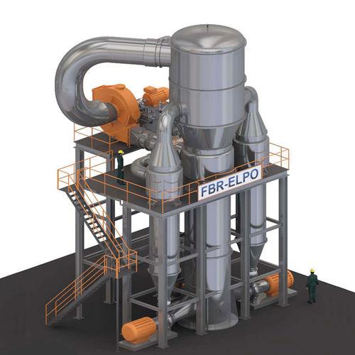 evaporatore per concentrazione di liquidi / a circolazione forzata / di processo / per l'industria agroalimentare