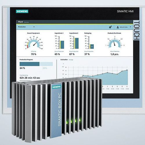 panel PC di LCD