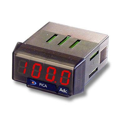 amperometro DC / montato su pannello
