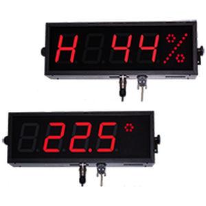 display alfanumerico / a 7 segmenti / a 5 cifre / per misurazione di temperatura