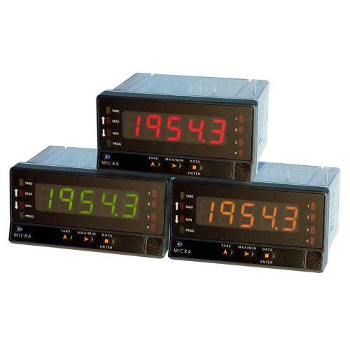 display ripetitore digitale / a 5 cifre / industriale