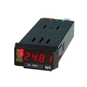 indicatore di processo / LED / per pannelli / integrato