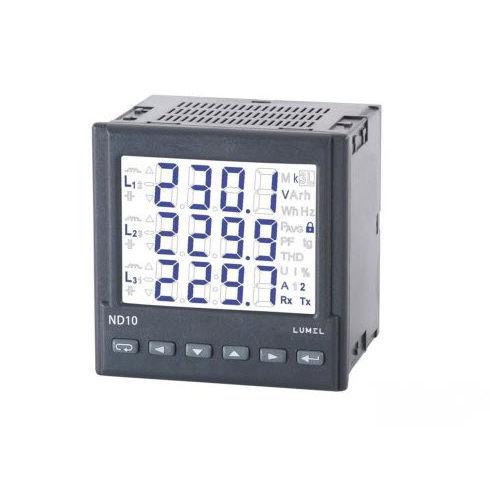 analizzatore per rete elettrica / di potenza / RS485 / IP65