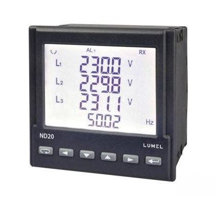 analizzatore per rete elettrica / digitale / RS485 / IP65