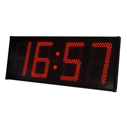 orologio calendario / a doppia faccia / a 4 cifre