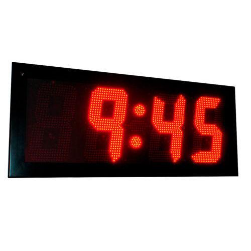 orologio LED / a doppia faccia / per esterni / GPS
