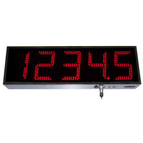 display alfanumerico / grande formato / programmabile / di controllo