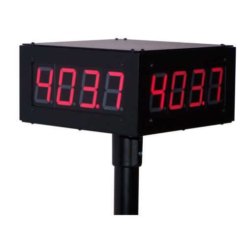 display alfanumerico / grande formato / elettronico / di controllo