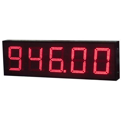 display alfanumerico / grande formato / programmabile / Pt100