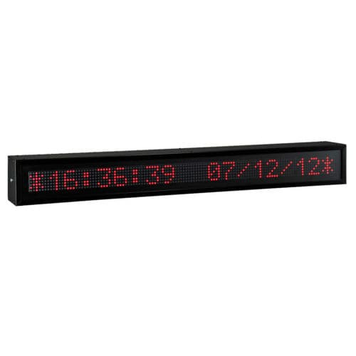 display LED / alfanumerico / grande formato / IP65