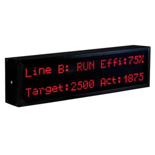 display alfanumerico / grande formato / Modbus / IP65