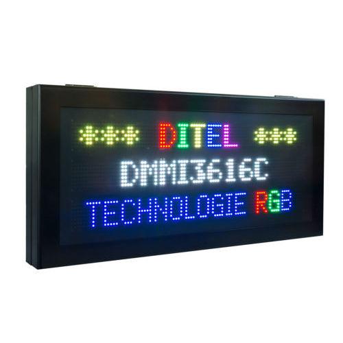 display alfanumerico / grande formato / da interno