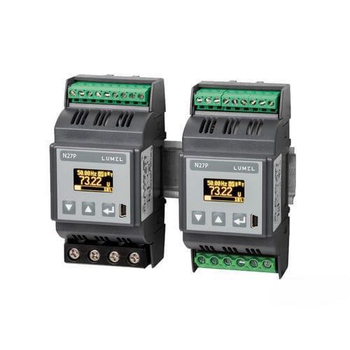 apparecchio di misura della potenza contatore di energia / su guida DIN / monofase