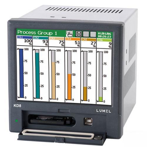 registratore con carta / ad uso industriale / per rete / di allarme